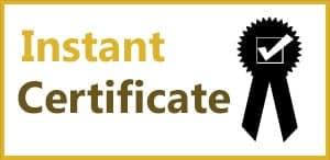 Instant Food Hygiene Certificate
